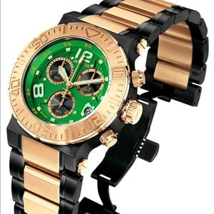 INVICTA Reserve Chronograph 18k Rose Gold-Plated